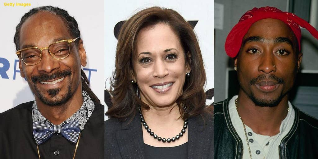 Kamala Harris Says She Listened To Snoop Dogg Tupac While Smoking Weed In College Years Before They Made Music Fox News