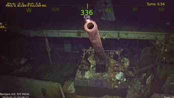 Wreck of WWII aircraft carrier USS Hornet found in South Pacific