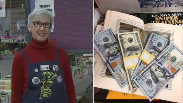 Arizona volunteer finds $4G in hollowed-out book