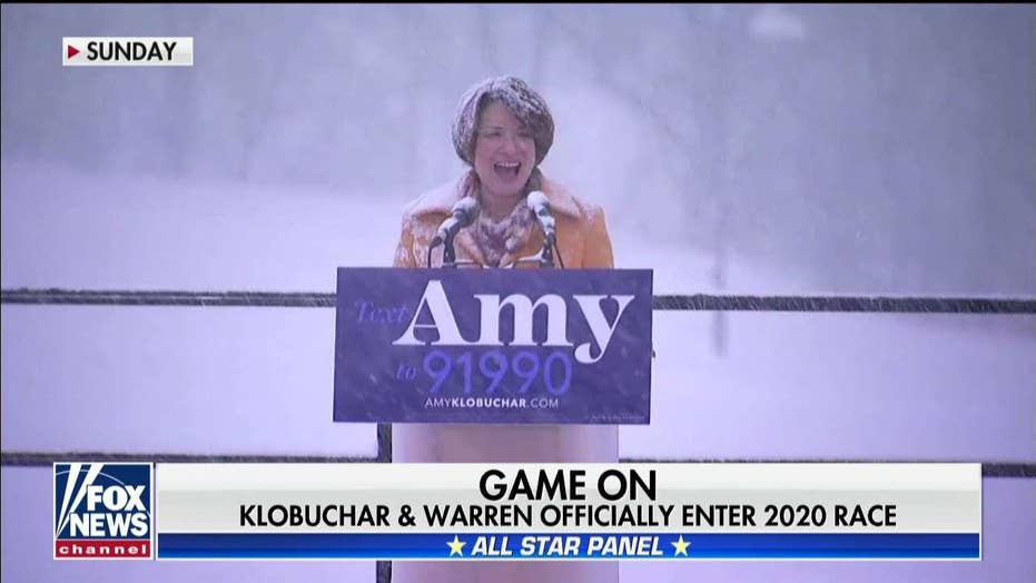 'Special Report' panel on Klobuchar and Warren officially entering the 2020 race