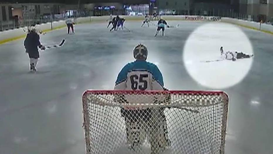 Doctor saves fellow hockey player's life during pickup game in North Carolina