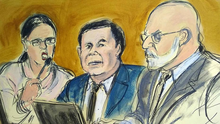 Jury reaches verdict in trial of Mexican drug lord Joaquin 'El Chapo' Guzman