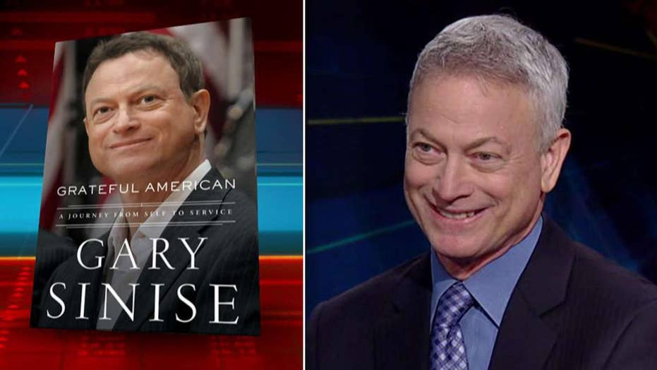 Gary Sinise on his new book 'Grateful American: A journey from Self to Service'