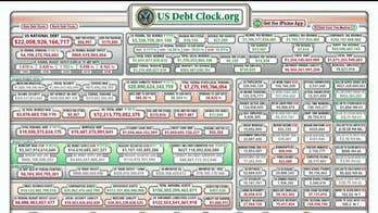 Reporter's Notebook: How the growing national debt seems to be fading from concern in DC