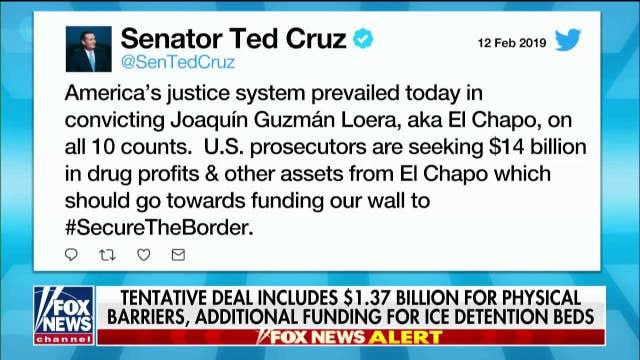 Sen. Kennedy Agrees With Cruz: Take El Chapo Money to Fund Wall