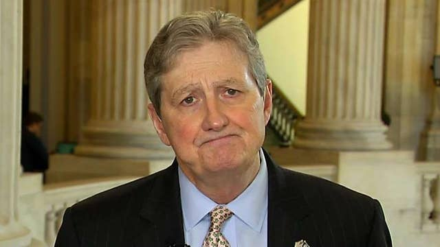 Sen. Kennedy says he's unsure if he will vote on the new border security deal