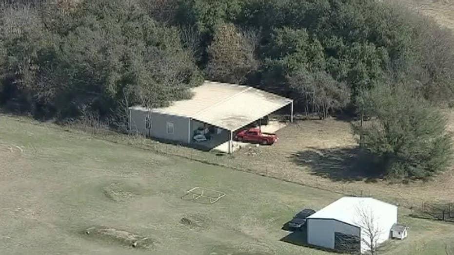 Texas children locked in dog kennel