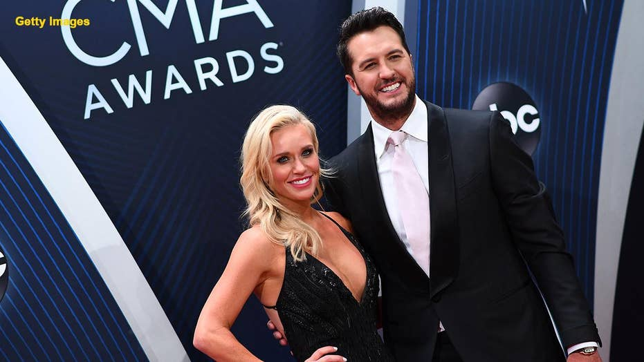 Luke Bryan and wife adopt adorable senior dog from an animal rescue group
