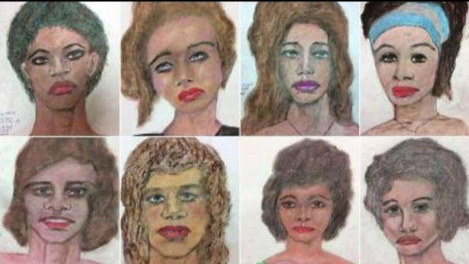 FBI asks for help identifying women depicted in serial killer's paintings