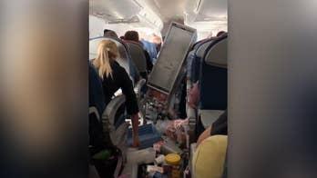 Severe turbulence on Delta flight forces emergency landing
