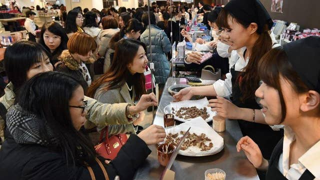 Japanese women are rebelling against the tradition of giving male colleagues chocolates on Valentine's Day