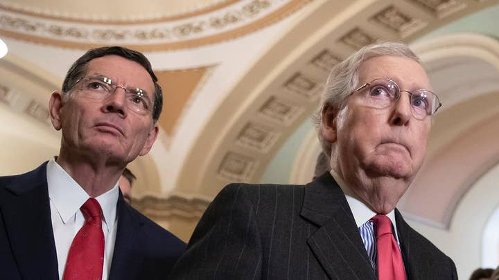 Mitch McConnell urges passage of compromise budget deal