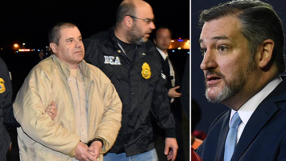Ted Cruz wants El Chapo to pay for the border wall