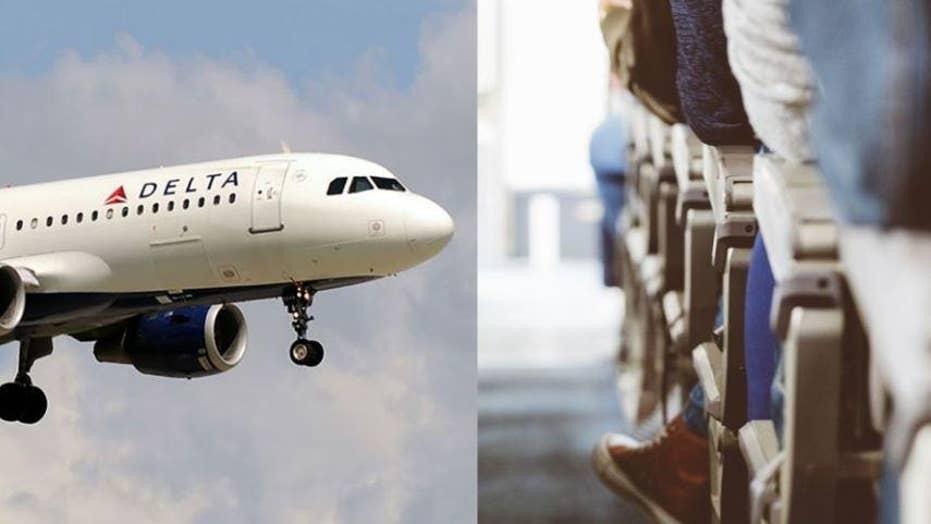 Caught on camera: Vape pen starts fire on Delta connection flight in overhead bin