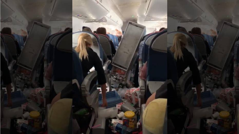 Image result for 3 injured after severe turbulence on Delta flight