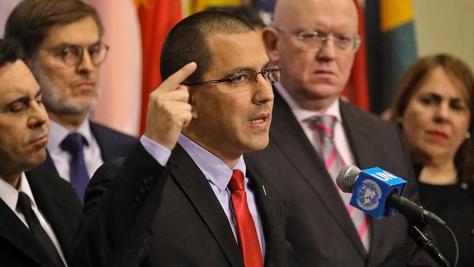 Venezuelan foreign minister delivers statement at the United Nations