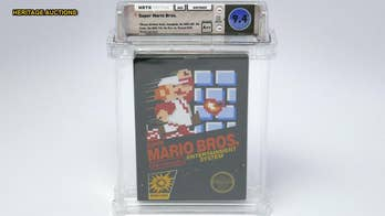 Unopened vintage 'Super Mario Bros.' video game sells for $100G, setting new world record