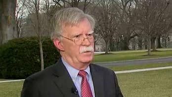 John Bolton says Maduro's generals are talking to the opposition in Venezuela