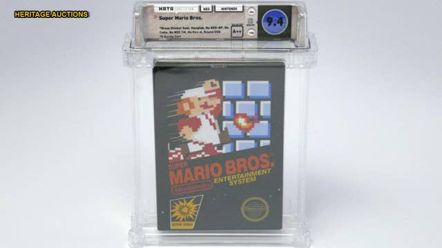 Unopened Super Mario Bros. copy from 1985 sells for $100G thumbnail