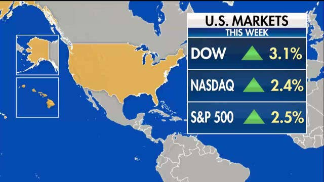 Dow soars, boosted by new hopes of a trade deal with China