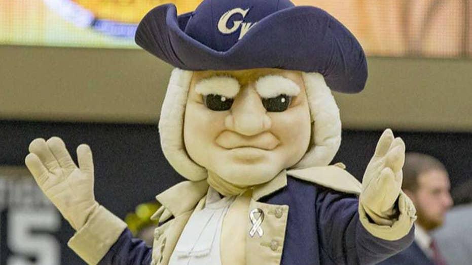 Students demand George Washington University change mascot