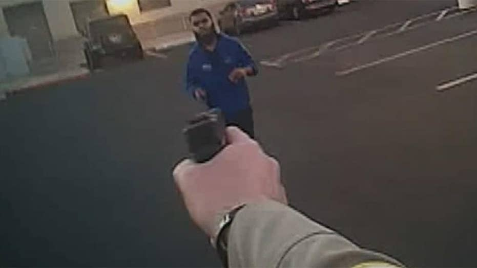 Arizona police release bodycam footage from officer-involved shooting