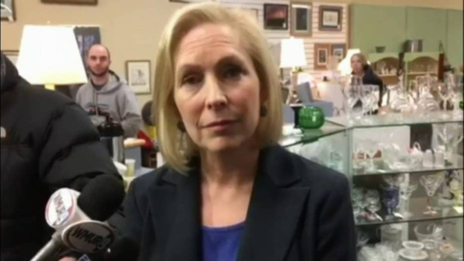 Gillibrand on tearing down existing border walls: 'If it makes sense, I could support it'