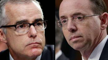 McCabe: Rosenstein's offer to wear wire was 'absolutely not' a good idea