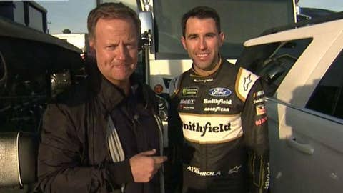 Rick Reichmuth cooks with NASCAR driver