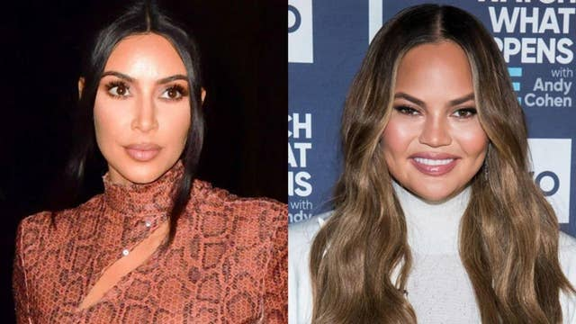 Chrissy Teigen questions Kim Kardashian West's Valentine's Day surprise