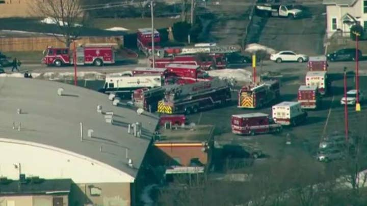 Police say five people killed, five officers wounded in workplace shooting in Aurora, Illinois
