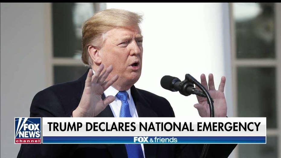 Homan on Nat'l Emergency: Dems Had Trump 'in a Corner' Over Border Security Decision