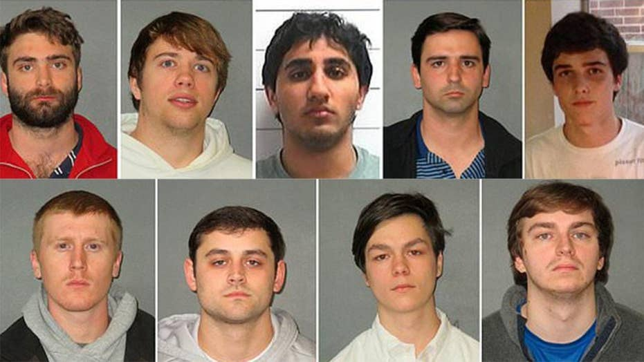 9 LSU fraternity members arrested for hazing incidents