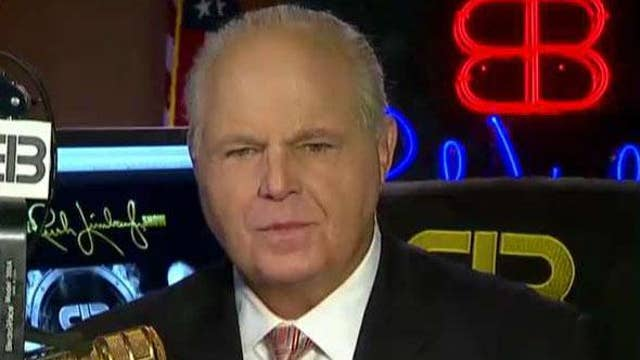 Rush Limbaugh on whether Trump is justified in taking executive action to secure funding for his border wall thumbnail