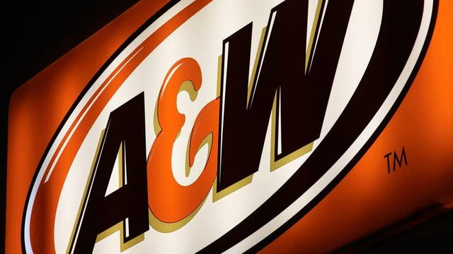 A&W restaurant customers continue to line up as 'roof was on fire'