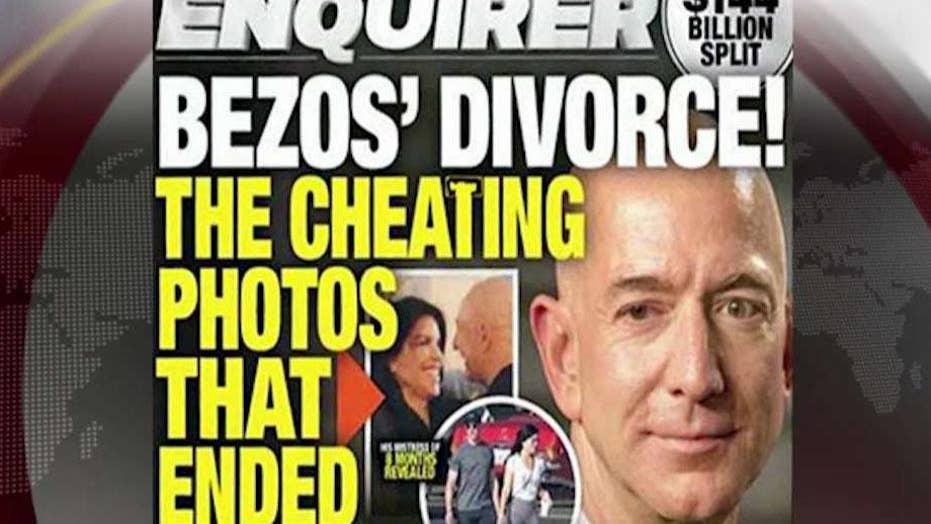 Bezos, Enquirer traded threats