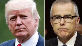 Trump denies calling Andrew McCabe's wife 'a loser'