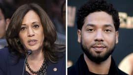 Kamala Harris gives awkward response when asked about Jussie Smollett claims
