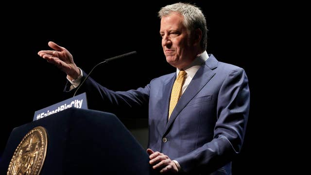 Mayor Bill de Blasio says that US Rep. Alexandria Ocasio-Cortez was wrong on understanding the Amazon deal