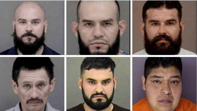 Massive drug operation with ties to a Mexican drug cartel results in arrests of six undocumented immigrants