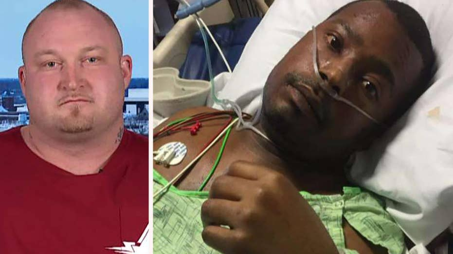 Hero weightlifter moves 2-ton SUV to help rescue driver pinned underneath