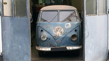 First VW police speed camera van discovered in garage after 55 years