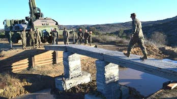 California Marines successfully 3D print the first reinforced concrete bridge