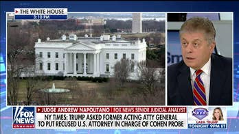 Napolitano says if NYT report is accurate, Trump may be implicated in attempted obstruction