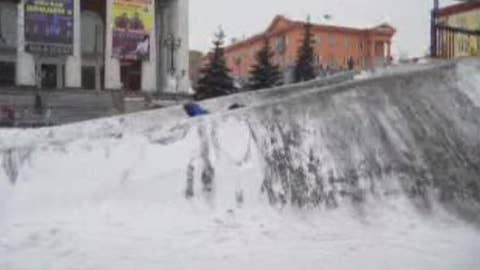 Black snow raises health concerns for residents