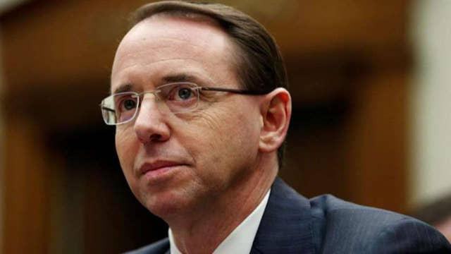Senior DOJ official: Rosenstein expected to leave the Department of Justice by mid-March