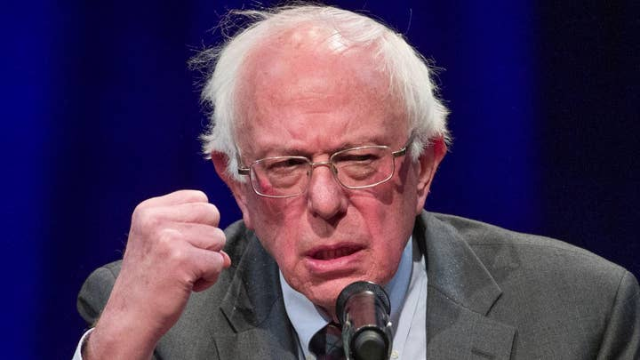 Bernie Sanders jumps into crowded Democratic presidential race with swipes at Trump and Schultz