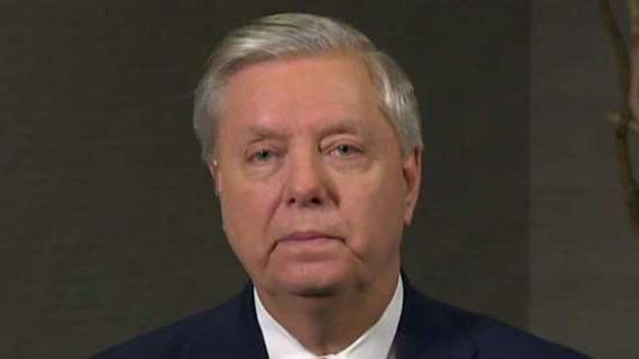 Sen. Lindsey Graham on investigating McCabe and Rosenstein: Somebody's lying