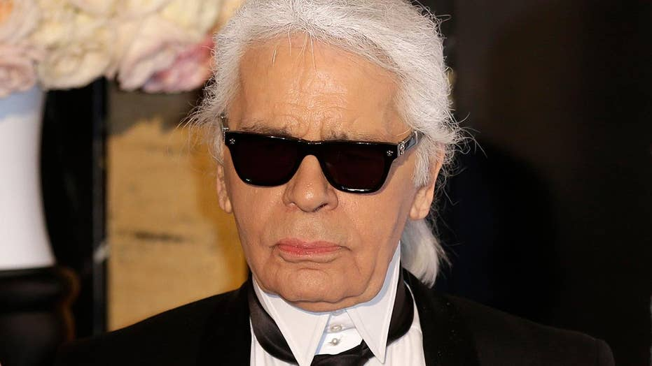 fashion designer karl lagerfeld young