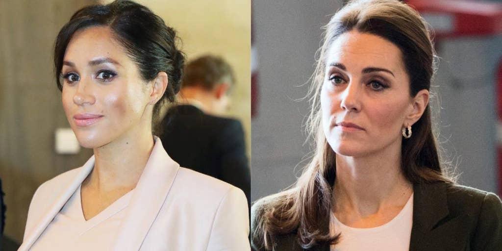 Meghan Markle and Kate Middleton ile ilgili görsel sonucu